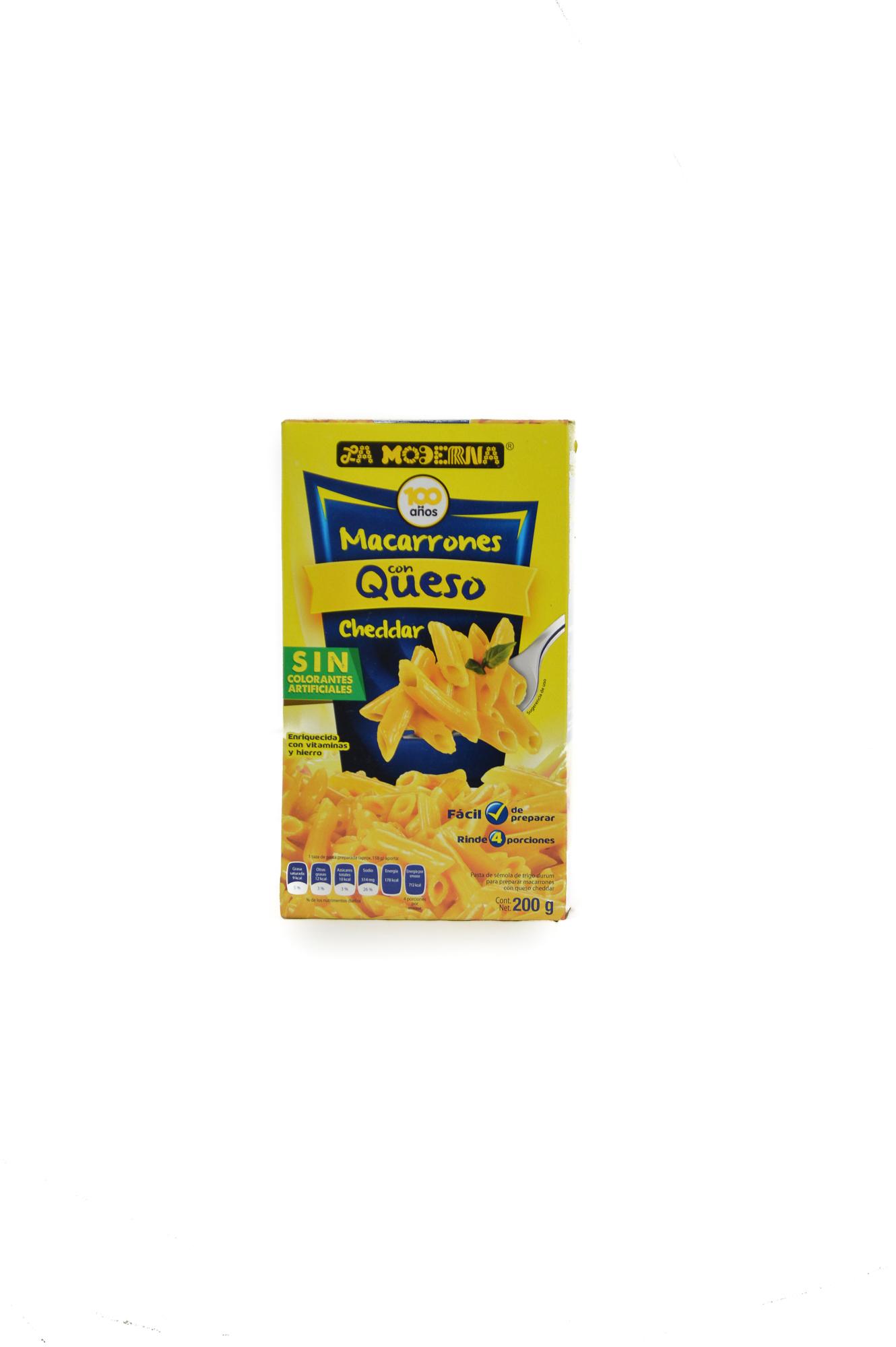 Macaroni and cheese  (6 x 200 g)