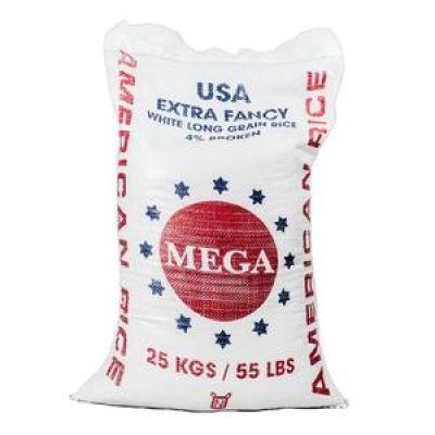 Rice/Riz Mega (25 kgs/55lbs /9 marmites)