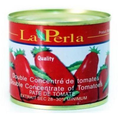 Tomato Paste /Pate de tomate La Perla (12 x 8oz)