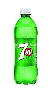 7 UP Bottles / Full Case (24 x 20z)