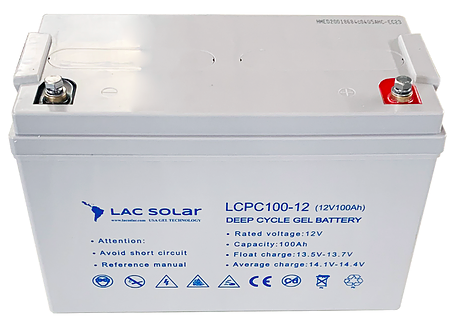 Gel Battery 12V/100A / Lac Solar