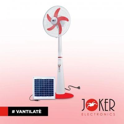FAN SOLAR / VENTILATEUR JOCKER 888