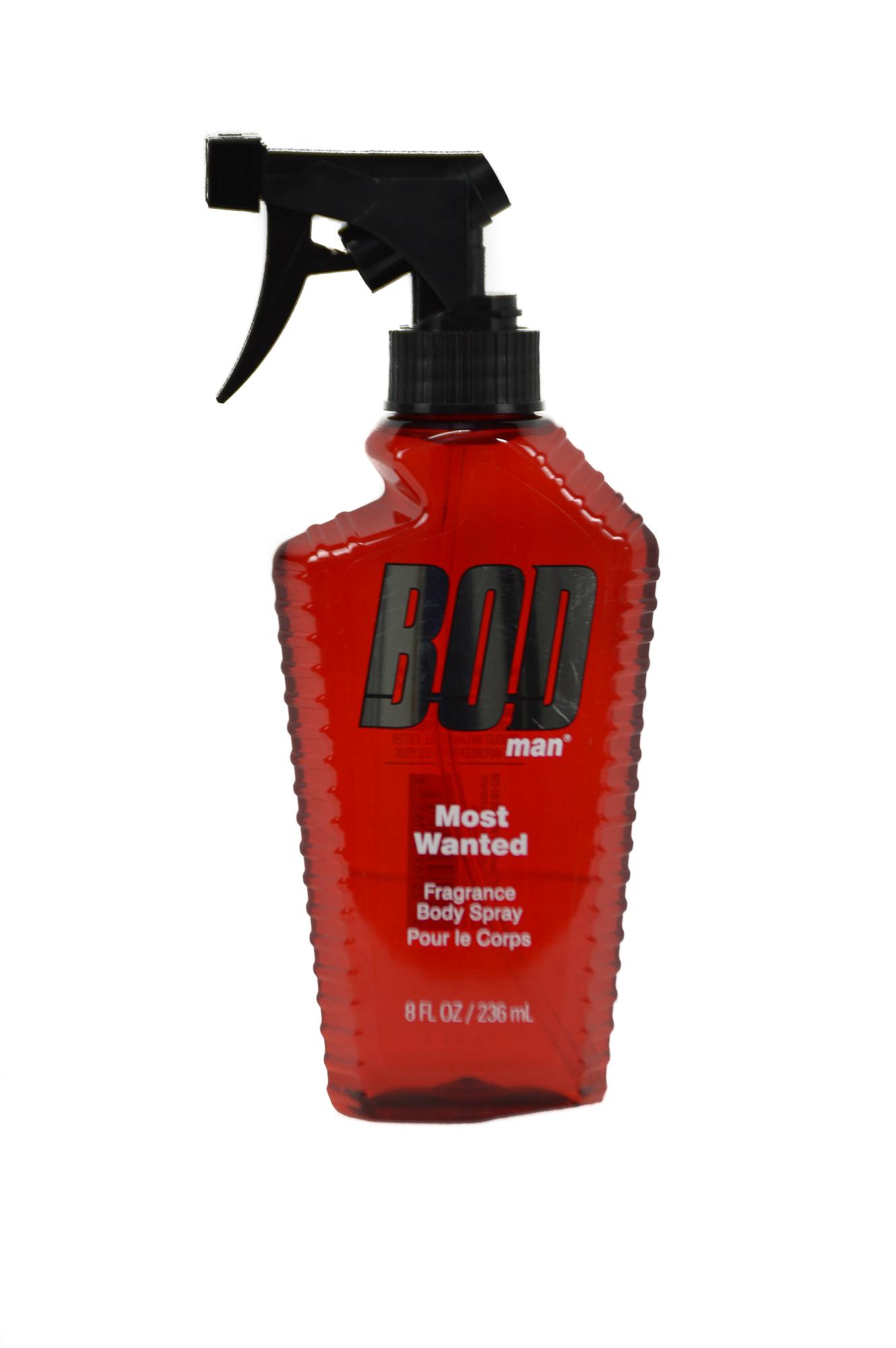BOD Body Spray for Man (3 x 8 oz)