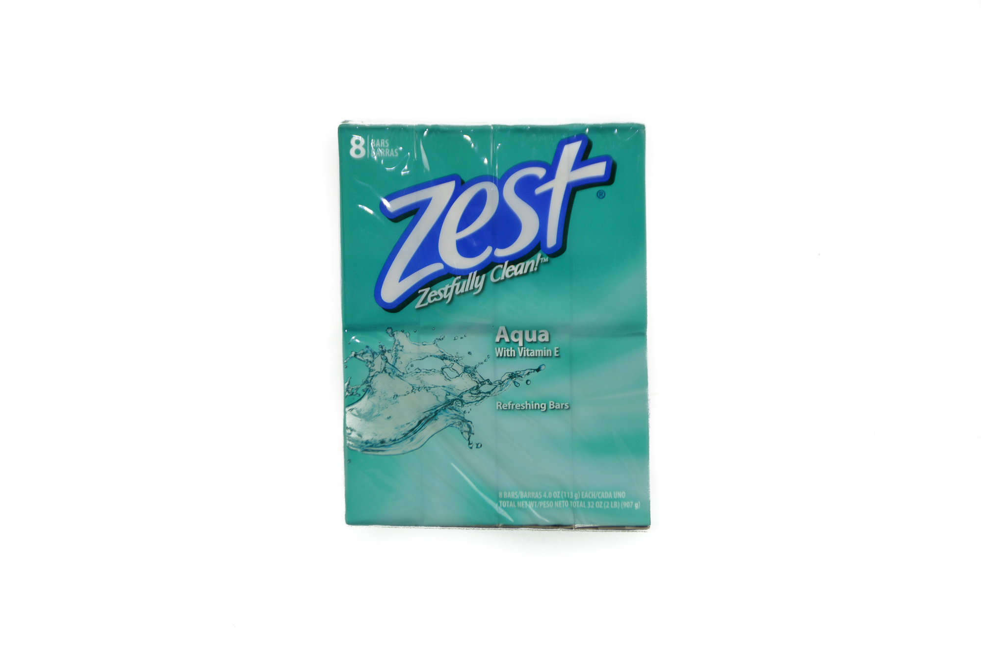 Zest Soap Pack (8 bars x 3.75 Oz)