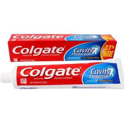 Colgate Toothpaste (3 x 8 Oz)
