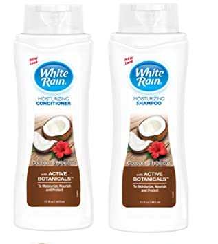 White Rain set (2 bottles x 15 Oz )