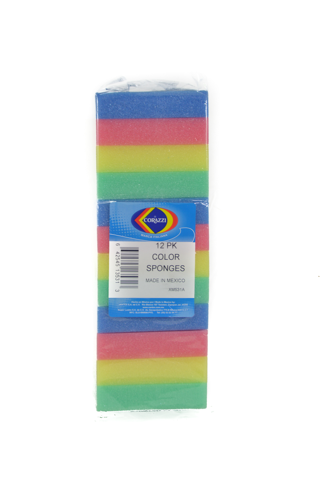 Carozi sponges (3 pack of 12 ct)