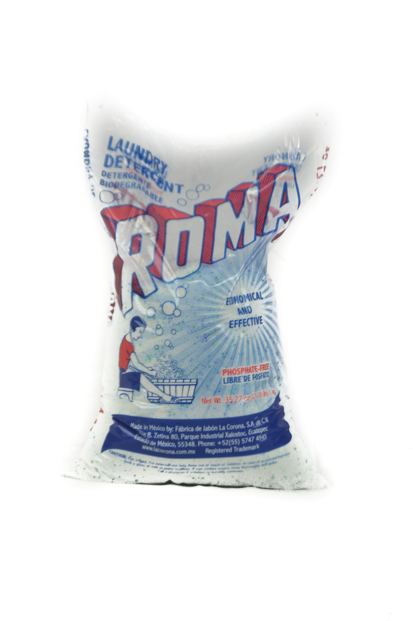 Roma Powder Laundry detergent  35 oz