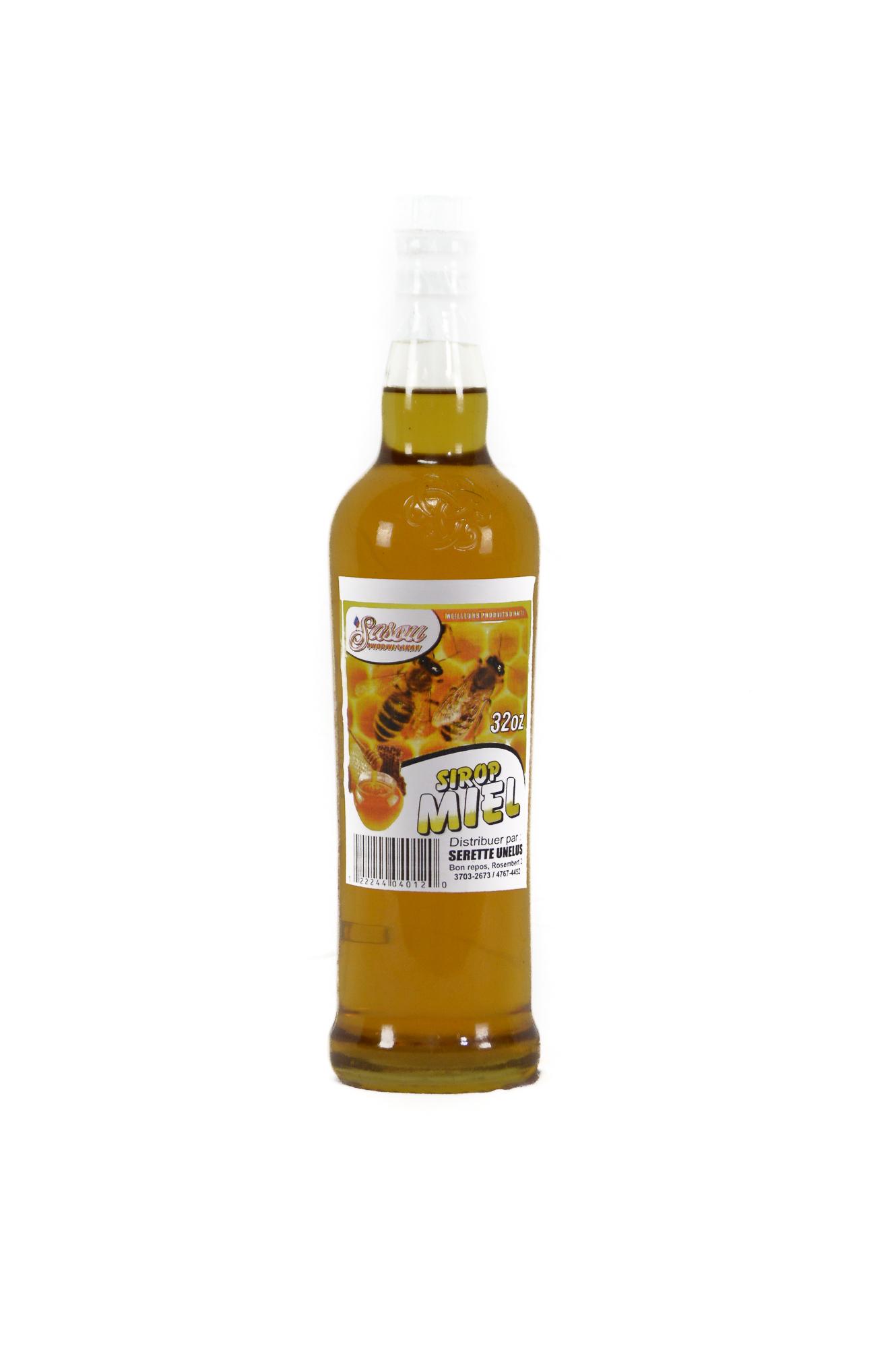 Honey /Sirop Miel local 32 Oz