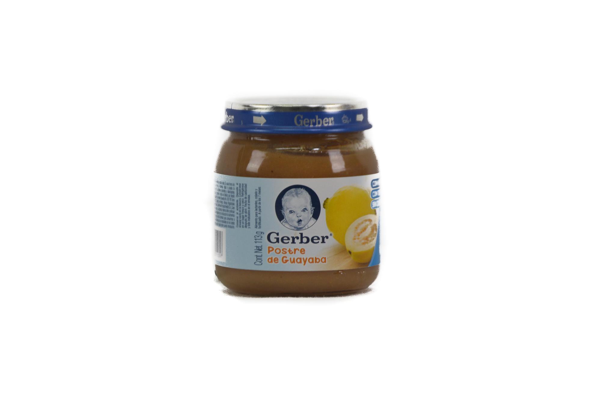 Gerber Baby Food (6 x 113 g)