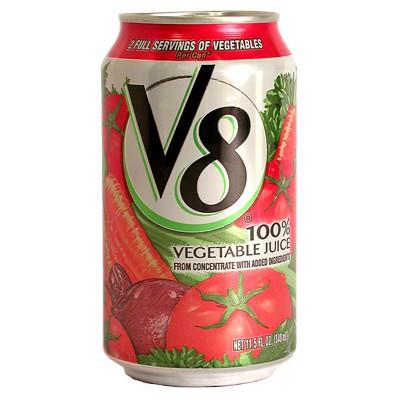 v8 Vegetable Juice 11.5 FL Oz Half Case (12 x 11.5 Oz)