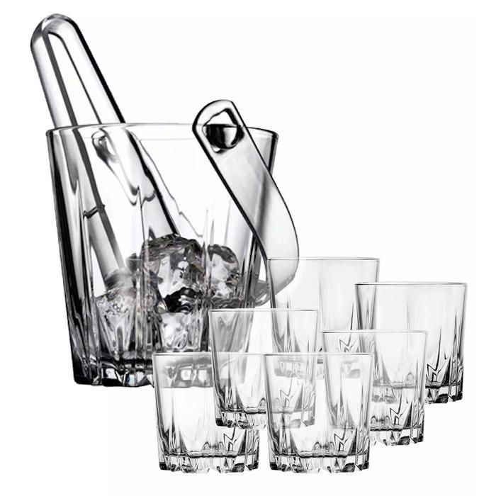 Karat Ice Bucket & Glasses 7 Pieces