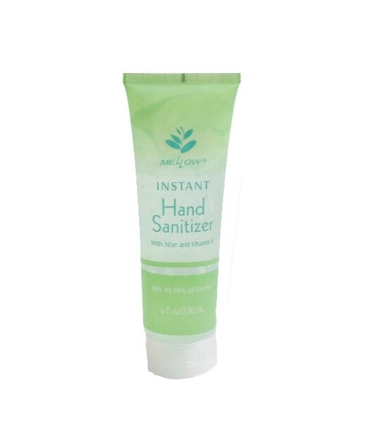 MELLOW HAND SANITIZER WITH ALOE 8OZ