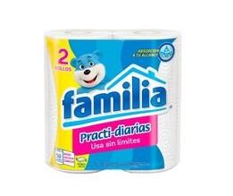 PAPER TOWEL FAMILIA 2 ROLLS
